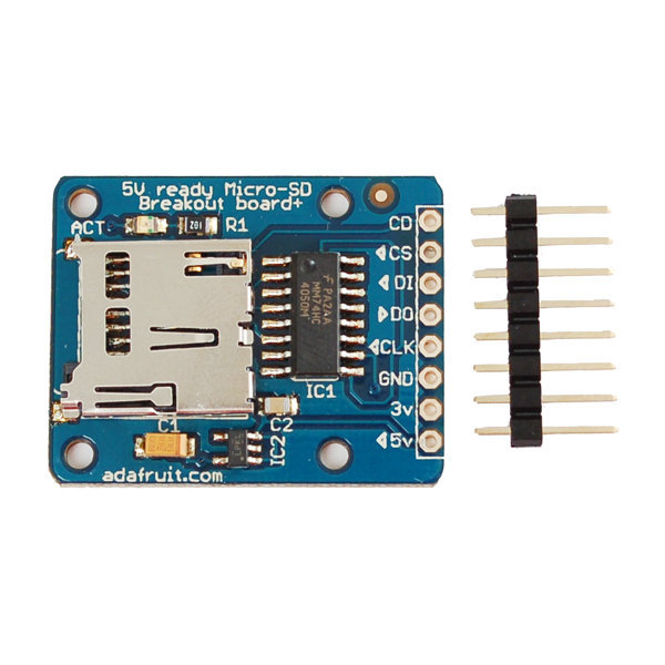 Adafruit module carte micro sd ada254 - Carte micro sd leclerc ...